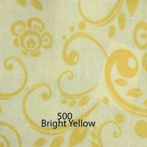 Backing Fabric Bright Yellow