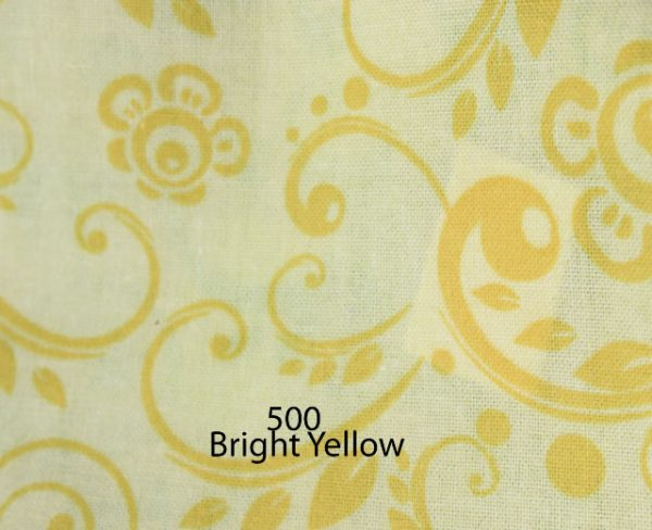 Backing Fabric Bright Yellow