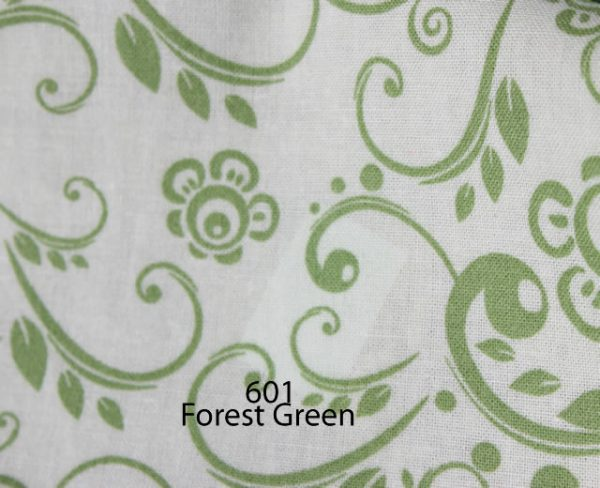 Backing Fabric Forest Green