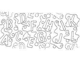 A B C's Interlocking – 11″