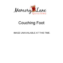Couching Foot